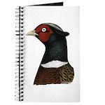 Ringneck Rooster Head Journal