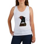 Ringneck Rooster Head Women's Tank Top