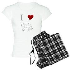 I Love Pig Pajamas