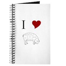 I Love Pig Journal