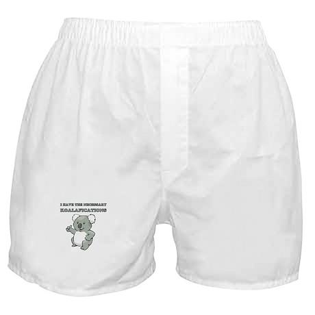 Necessary Koalafications Boxer Shorts
