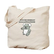 Necessary Koalafications Tote Bag
