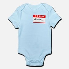 Abdul-Salam, Name Tag Sticker Infant Bodysuit