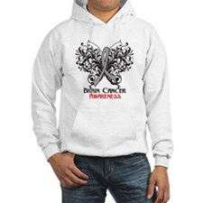 Butterfly Brain Cancer Hoodie