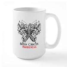 Butterfly Brain Cancer Mug