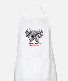 Butterfly Brain Cancer Apron