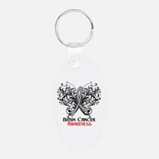 Butterfly Brain Cancer Keychains