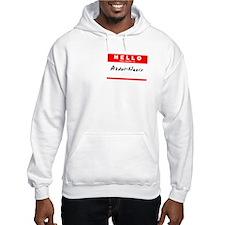 Abdul-Nasir, Name Tag Sticker Hoodie