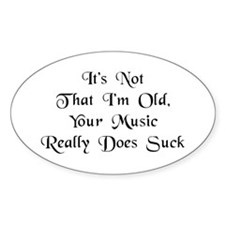 I'm Not Old - Decal