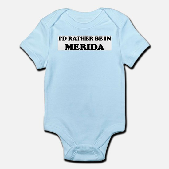 Rather be in Merida Infant Creeper