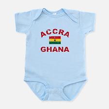 Accra Ghana designs Infant Bodysuit