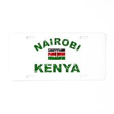 Nairobi Kenya designs Aluminum License Plate