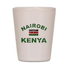 Nairobi Kenya designs Shot Glass