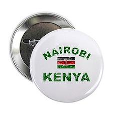"""Nairobi Kenya designs 2.25"""" Button (10 pack)"""