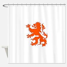 Dutch Lion Shower Curtain