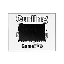 Curling Is Life Designs Picture Frame