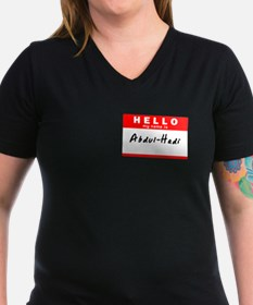 Abdul-Hadi, Name Tag Sticker Shirt