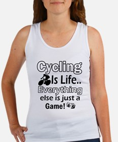 Cycling Is Life Designs Women's Tank Top