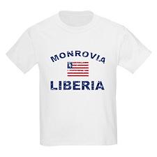 Monrovia Liberia designs T-Shirt