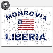 Monrovia Liberia designs Puzzle