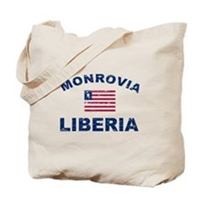 Monrovia Liberia designs Tote Bag
