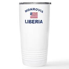 Monrovia Liberia designs Travel Mug