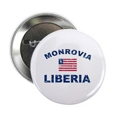 "Monrovia Liberia designs 2.25"" Button"