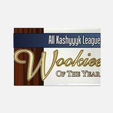 Wookie of the Year Rectangle Magnet