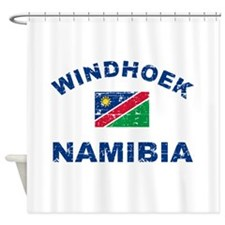 Windhoek Namibia designs Shower Curtain