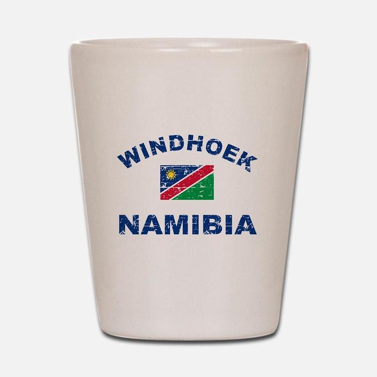 Windhoek Namibia designs Shot Glass