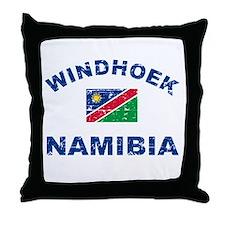 Windhoek Namibia designs Throw Pillow