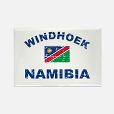 Windhoek Namibia designs Rectangle Magnet