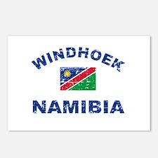 Windhoek Namibia designs Postcards (Package of 8)