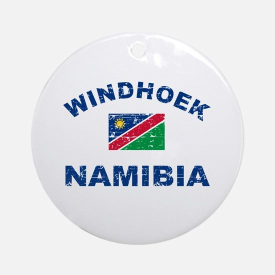 Windhoek Namibia designs Ornament (Round)