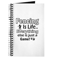 Fencing Is Life Designs Journal