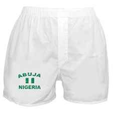 Abuja Nigeria designs Boxer Shorts