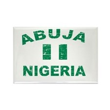 Abuja Nigeria designs Rectangle Magnet