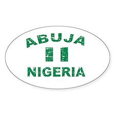 Abuja Nigeria designs Decal