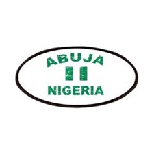 Abuja Nigeria designs Patches