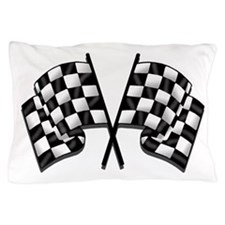 Chequered Flag Pillow Case