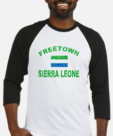 Freetown Sierra Leone designs Baseball Jersey