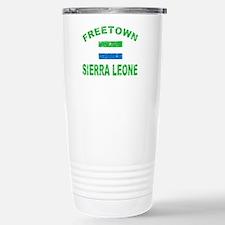 Freetown Sierra Leone designs Travel Mug