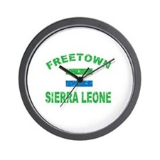 Freetown Sierra Leone designs Wall Clock