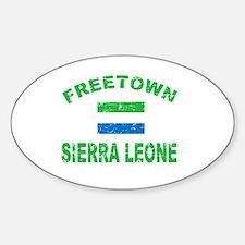 Freetown Sierra Leone designs Decal