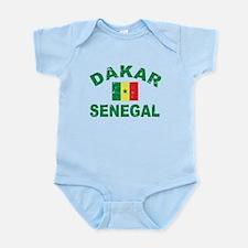 Dakar Senegal designs Infant Bodysuit