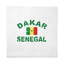 Dakar Senegal designs Queen Duvet