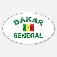 Dakar Senegal designs Decal