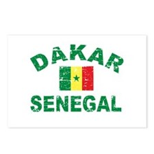 Dakar Senegal designs Postcards (Package of 8)
