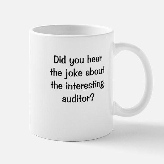 Auditing Joke Interesting Auditor Mug