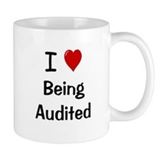Accountant Auditor Gift - Cheeky Audit Quote Mug